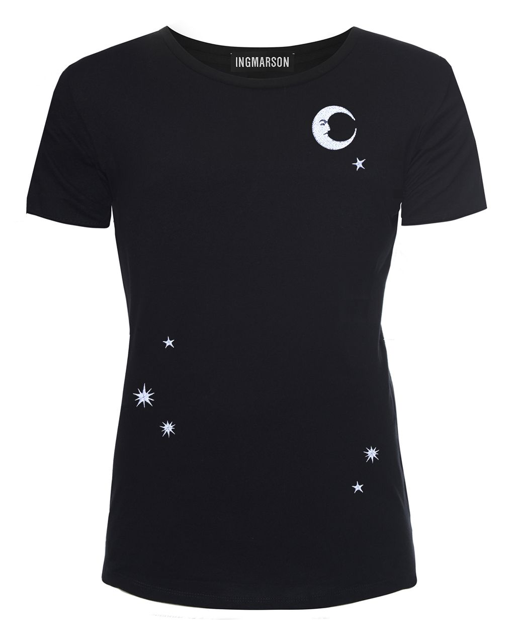 Midnight Sky Embroidered T-Shirt