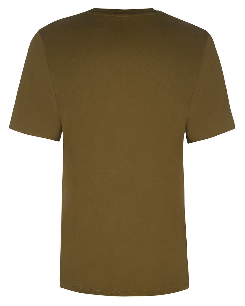 Bee Embroidered T-Shirt Khaki